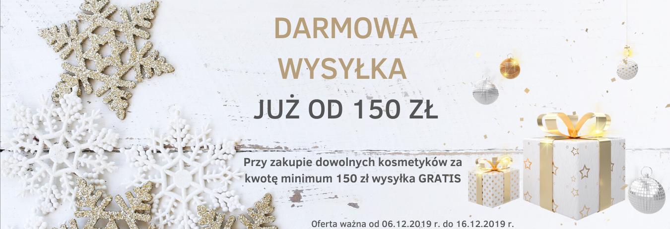 Darmowa wysyłka od 150 zł